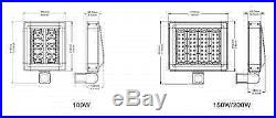 LED ShoeBox Light Parking Lot Fixture 100W CREE replace 250-400W Metal Halide MH