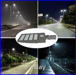 LED Shoebox Light 300W Street Light Pole Parking Lot Light Waterproof UL DLC