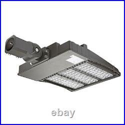 LED Shoebox Pole Light, 300W, 5000K, 33600 lumen Street Parking Lot Lighting