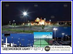LED Shoebox/ Pole Light Parking Lot Light, Area Light Car Lot, 300 Watt 100-277