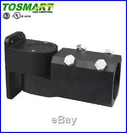 LED Shoebox Pole Light Slim Black 300 Watt Street Light, Parking Lot 200-480V