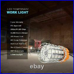 LED Temporary Work Light 125W 18750LM High Bay Work Lights Construction Jobsite