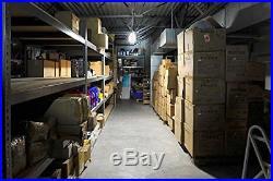 LED Temporary Work Light Fixture, 5000K Daylight