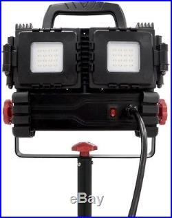 LED Tripod Husky Work Light 360-degree 3200 Lumens Batman Multi-Directional