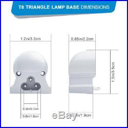 LED Tube Lights T8 6000K Shop Light 14W120W 1400LM12000LM 8FT 4FT 2FT Fixture