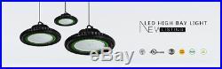 LED UFO High-Bay Warehouse Light 150 Watt Lamp Ultra Efficient Industrial Area