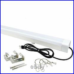 LED Vapor Tight Light 4FT 40W 4500LM Industrial Vapor Proof Parking Garage Light