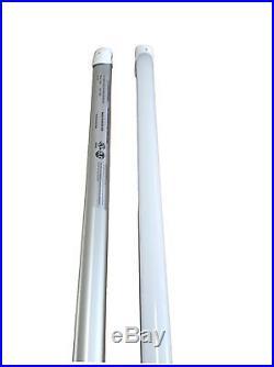 LED Vapor Tight T8 Light Fixture 4' Linear 36 Watt LED DLC Approved- NEW