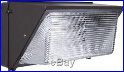 LED Wall PACK 120W 5000K fixture light replace 400W Hallogen Lamp UL& DLC IP65