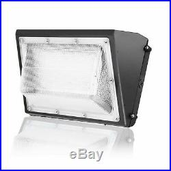 LED Wall Pack 100W 150W Outdoor Commercial Wall Light Fixture 5000K Dusk To Dawn