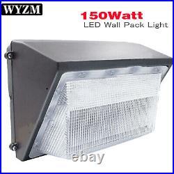 LED Wall Pack 150Watt, ETL List, 5500K with Dusk-to-Dawn Photocell, 18000LM, IP65