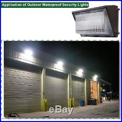 LED Wall Pack Light 150 Watt 5500K Daylight White High Security Exterior Outdoor