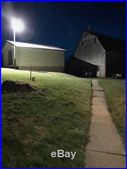 LEONLITE LED Area Light 75W Dusk to Dawn Street Light, Photocell Included
