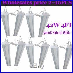 LOT 20Pack 4'LED Shoplights Hanging Shop Light Fixture 5000Lumens Garage Work MX