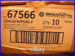 Lot Of 10-ge454mvps90-f-t5 Ballast-ge 65766