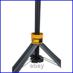 LUTEC 6290XL 7000 Lumen 93 Watt Dual-Head LED Work Light with Telescoping Tripod