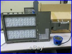 Led Shoe Box Light 150w Slip Fitter & Photocell Model Yr-150w550-003 New In Box