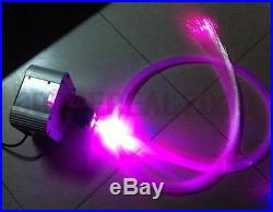 Led light source with color wheel&RF remote for fiber optic cables-twinkle light