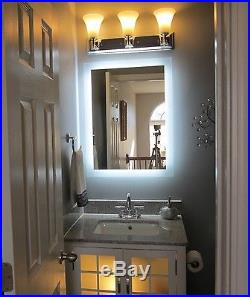 Lighted Mirrors for Bath Vanities or Home Decor MAM92028 20 Wide x 28 Tall