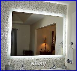 Lighted Vanity mirrors, make up, wall mounted MAM95644 56x44 LED Side Lighted