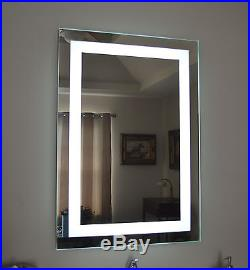 Lighted bathroom vanity make up mirror, led lighted, wall mounted MAM82840 28x40