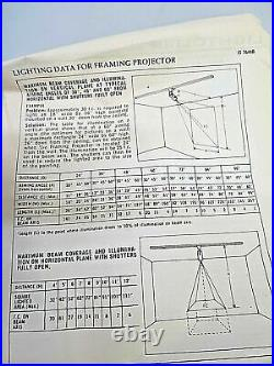 Lightolier Lytespan Dramalux Framing Projector Track Lighting Head 7644