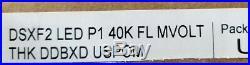 Lithonia DSXF2 LED P1 40K FL MVOLT THK DDBXD 54W D-Series Size 2 LED Floodlight