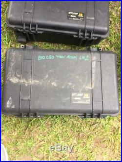 Lot Of 3 Pelican 9470 Case RALS. Cases Only