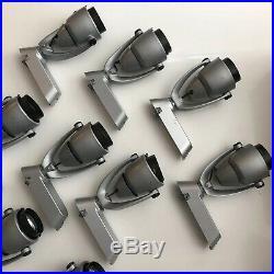 Lot of 10 Juno Trac-Master T537 Transformer & T406 Trac Heads SILVER