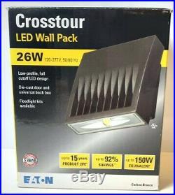 Lumark XTOR LED Wallpack Eaton 26W, Carbon Bronz 8041
