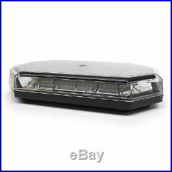Magnet Mount Amber Mini Lightbar 10 Flash Patterns Replaces Buyers 8891060
