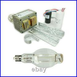 Metal Halide Lamp Ballast Kit 1000W 4Tap 120V 208V 240V 277V + 1000W BT56 Bulb
