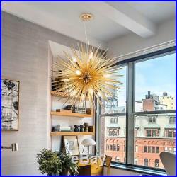Modern Gold Ceiling Pendant Sputnik Light Chandelier Lamp Lighting Fixture Decor