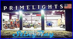 NEW 4 Lamp 88Watt LED Shop Light, UFO, Warehouse, Commercial, BRIGHT 5000K