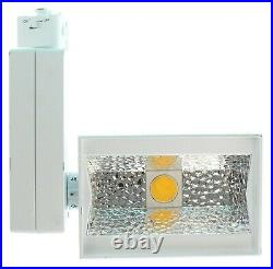 NEW ConTech Stealth LED Wall Wash Flood Light Track Fixture Head 5900Lm 3500K ++