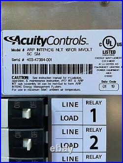 NEW IN BOX! Acuity Controls nLight ARP INTENC16 NLR 16 FCR Relay Panel Lighting