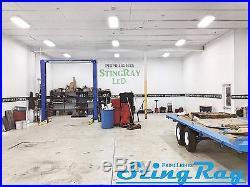 NEW (QTY 3) 4 Lamp T8 LED High Bay 88Watt Warehouse, Shop, BRIGHT, Light CLEAR