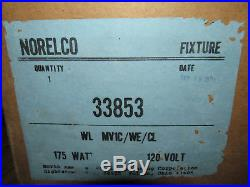 NOS Vintage NORELCO DUSK TO DAWN Security Barn LIGHT 175W120V Mercury Vapor Bulb