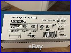New Lutron QSGRJ-6P- WH Grafik Eye. QS Wireless
