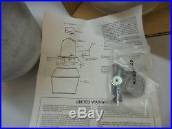 New Yard lite Barn LIGHT 175W 120V Mercury Vapor Lamp R175M VINTAGE Made USA