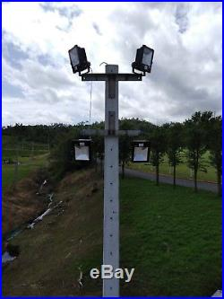 Outdoor 150W LED Flood Light Fixture Replace 800W Stadium Parking Lot Pole 5700K