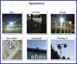 Outdoor IP65 1000W Tennis Court Lights 200W LED Flood Light Fixture UL & DLC