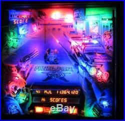 POLICE FORCE Complete LED Lighting Kit custom SUPER BRIGHT PINBALL LED KIT