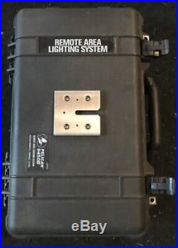 Pelican 9450B RALS Remote Area Lighting System Black case, tested