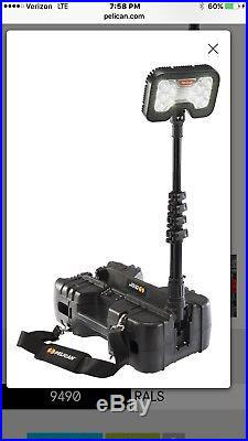 Pelican 9480 Remote Area Lighting System Black