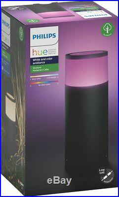 Philips Hue White and Color Ambiance Calla Outdoor Pathway Light Extension