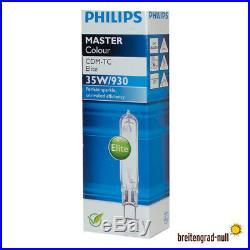 Philips Master Colour CDM-TC 35 Watt 930 Elite WDL G8.5 HCI HQI HIT