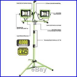 PowerSmith 40-Watt (4000 Lumens) LED Dual-Head Work Light with Tripod