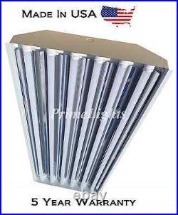 (QTY 6) 6 Bulb / Lamp T8 LED High Bay Warehouse, Shop, Commercial Light
