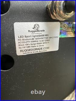 RuggedGrade 1200 Watt LED Light StadiumPro II 5000K Bright White
